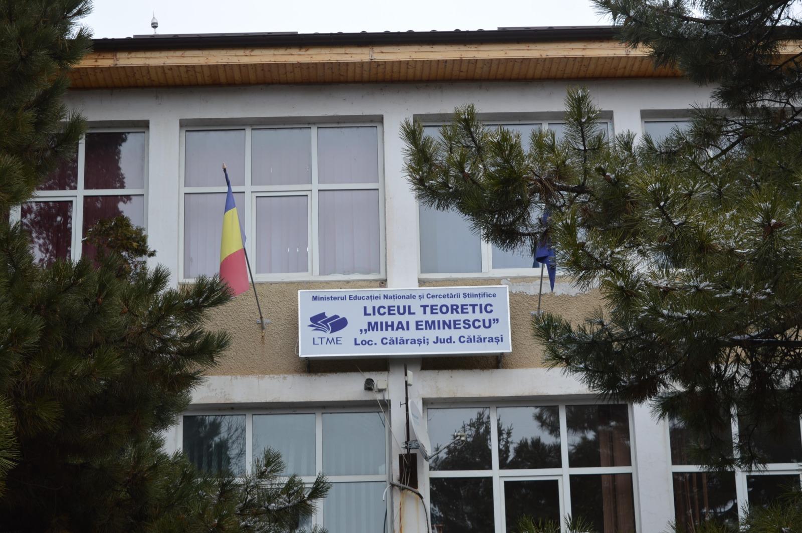 Liceul Teoretic Mihai Eminescu Călărași va fi reabilitat termic