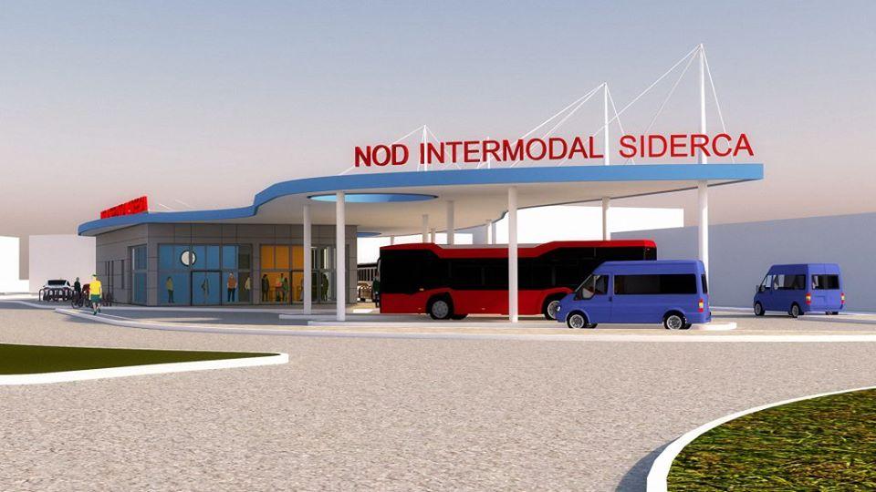 """Primăria Municipiului Călărași a semnat un nou contract de finanțare europeană """"Reducerea emisiilor de CO2 în zona urbană prin construirea unui terminal intermodal de transport în zona de vest (SIDERCA) a  municipiului Călăraşi"""""""