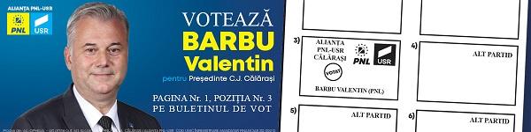 """Valentin Barbu, candidatul Alianței PNL–USR pentru Consiliul Județean Călărași: """"Eu nu vreau să fiu stăpânul nimănui!"""""""