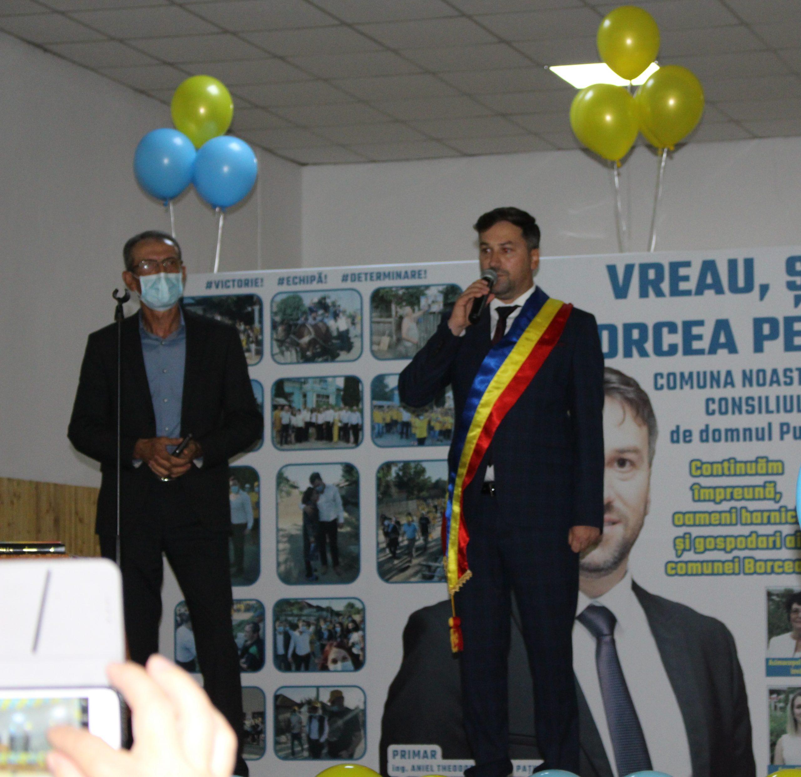 Aniel Nedelcu Pațurcă a depus jurământul, pentru al treilea mandat de primar al comunei Borcea