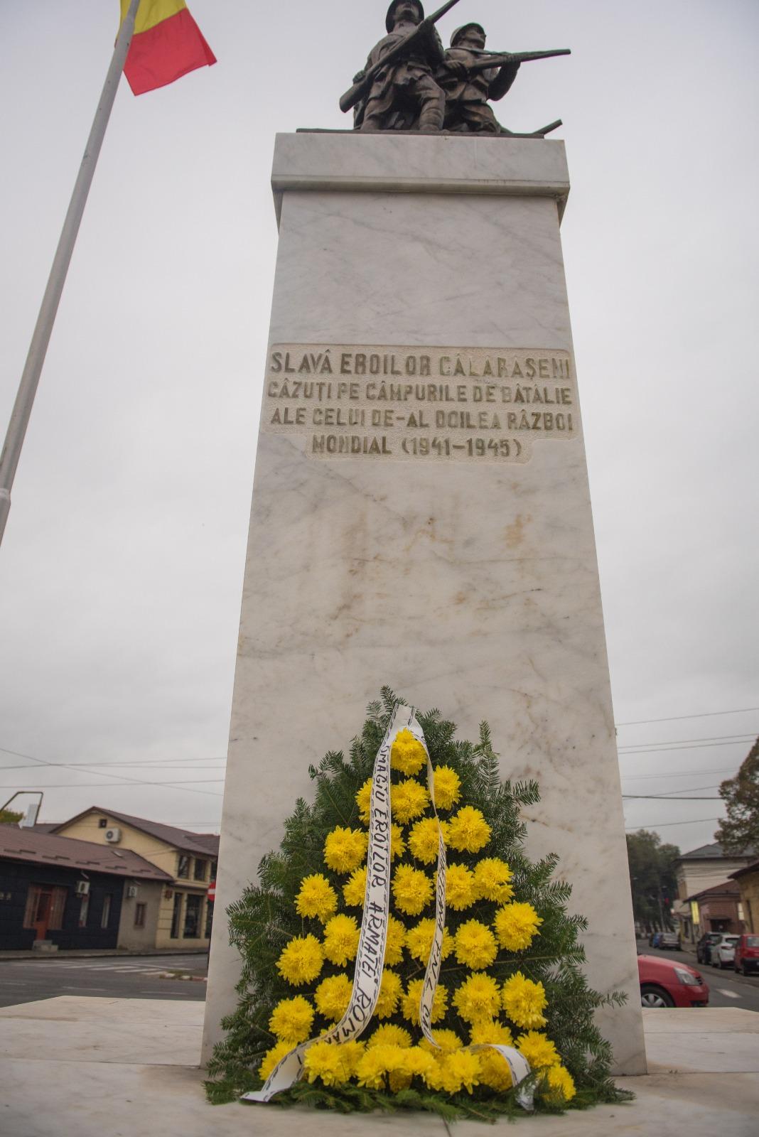 Liberalii călărășeni au marcat Ziua Armatei Române