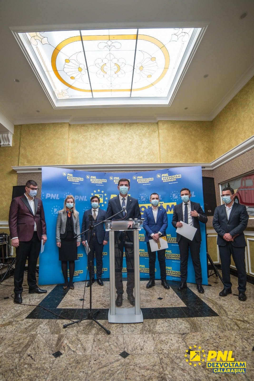 """Echipa PNL Călărași: ,,Avem curajul de a ne lupta pentru Călărași"""""""