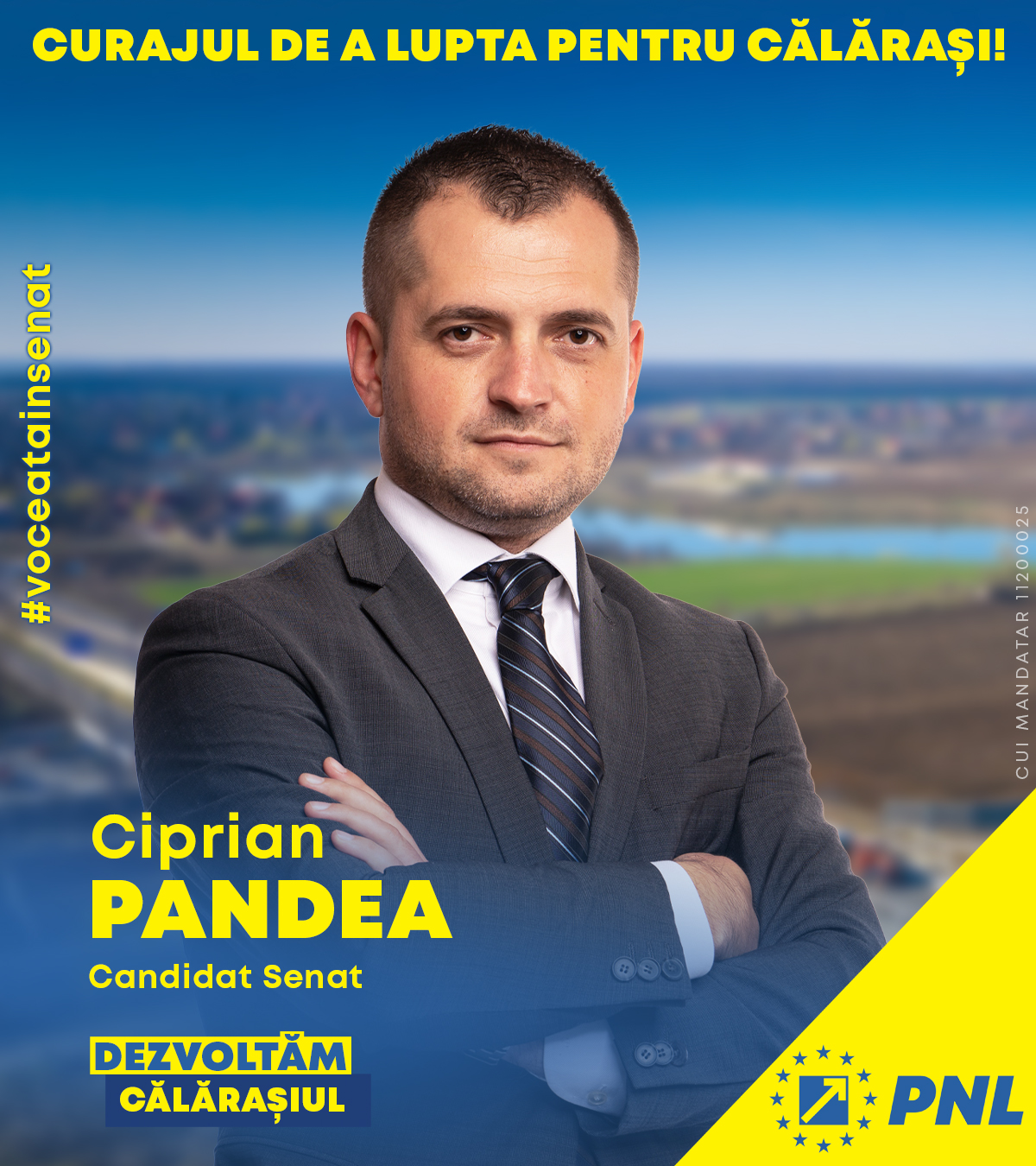 Ciprian Pandea: Educația va fi una din prioritățile mandatului meu de senator