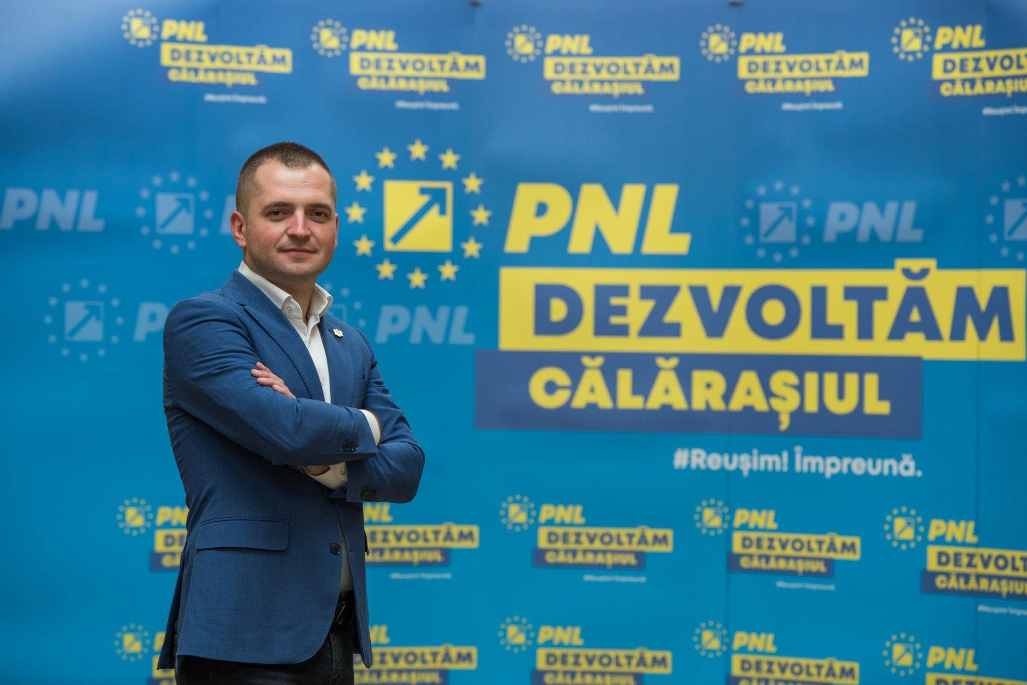 """Ciprian Pandea:,,Este foarte important să promovăm oameni din județ și mă bucur foarte tare că Partidul Național Liberal vine în fața dumneavoastră cu o echipă tânără, din Călărași"""""""