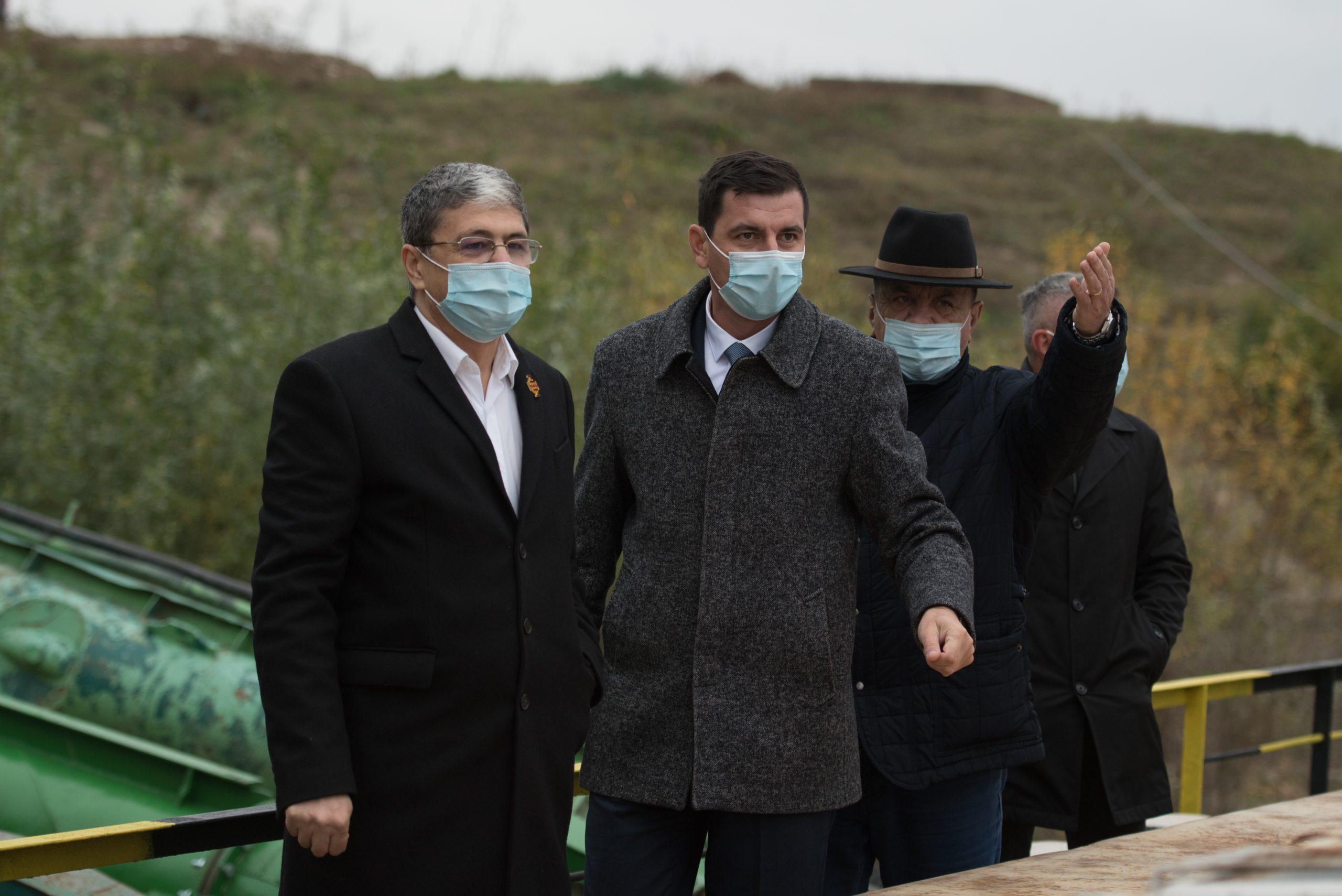 Ministrul Fondurilor Europene, Marcel Ioan Boloș, a efectuat o vizită de lucru în județul Călărași
