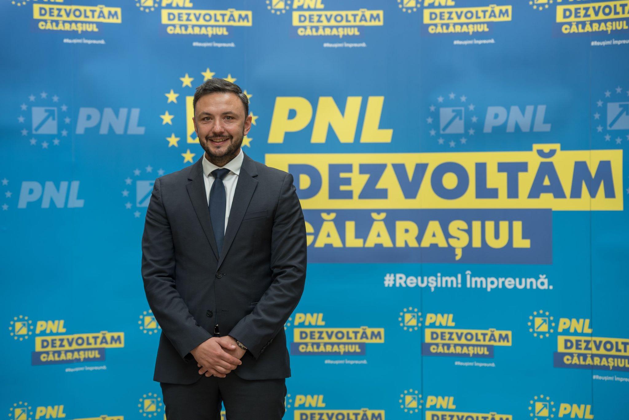 """Dragoș Coman: ,,Este pentru prima dată când o echipă formată din 10 tineri stă în fața dumneavoastră și a electoratului, pentru a demonstra că este momentul schimbărilor"""""""