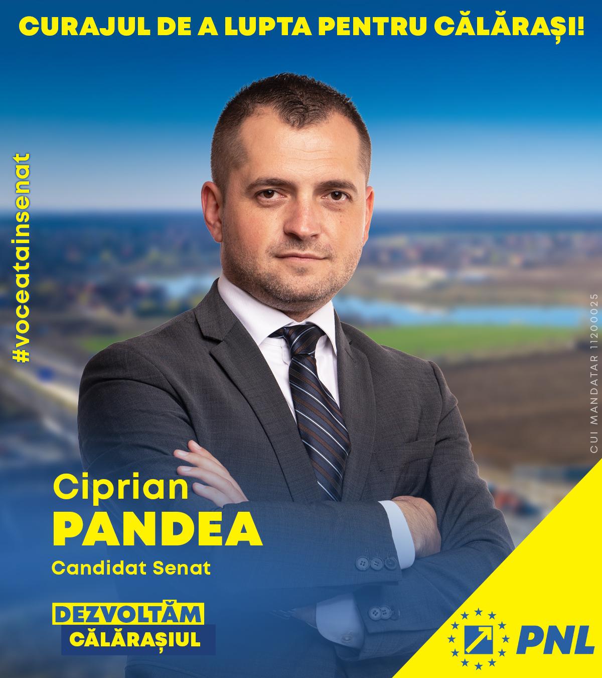 """Ciprian Pandea, candidat PNL pentru Senatul României: """"Faptele sunt de partea mea"""""""