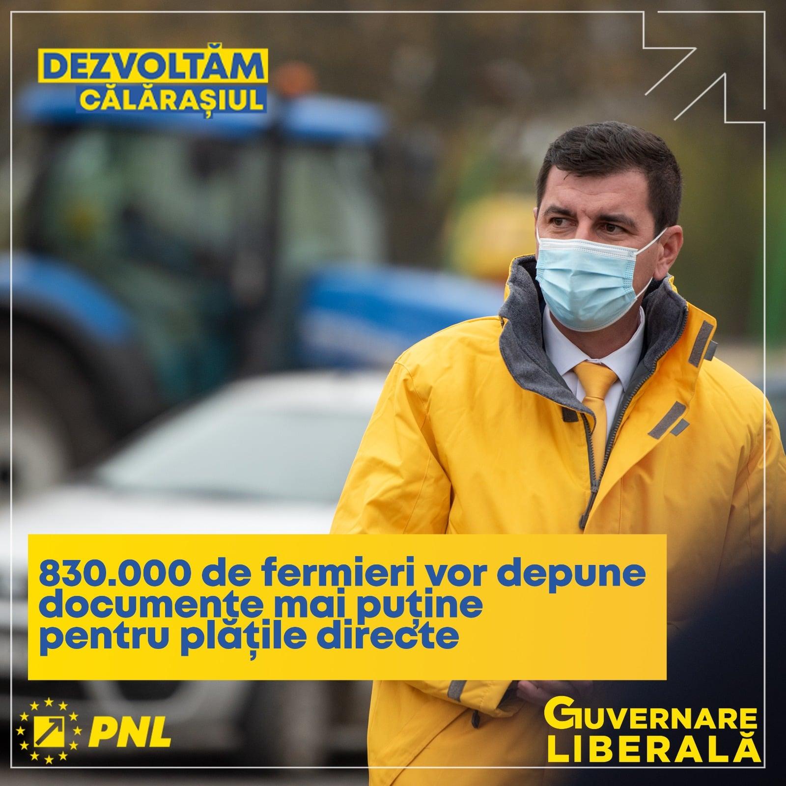 """Emil Florian Dumitru, candidat PNL pentru Camera Deputaților: ,,830.000 de fermieri din România vor fi scutiți să mai alerge după hârtii"""""""