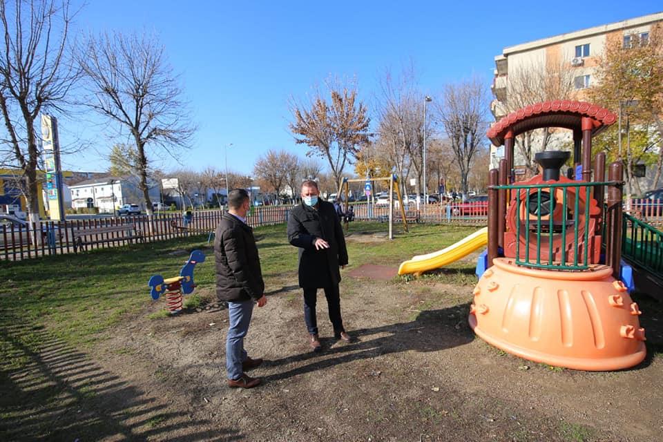 Conducerea Primăriei Călărași a verificat parcurile și străzile din municipiu