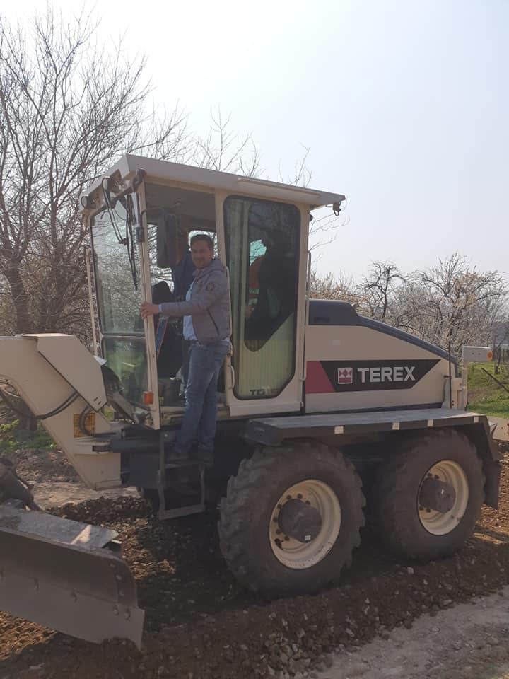 Primăria comunei Borcea continuă proiectele de modernizare a localității