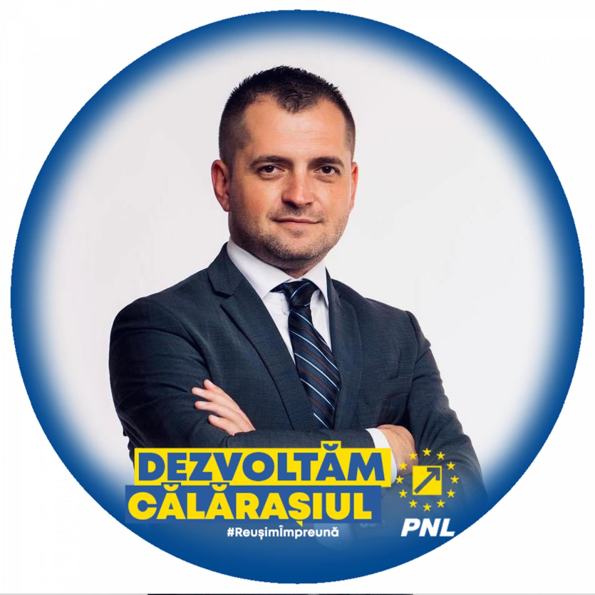 """Senator Ciprian Pandea: ,,21 de localități călărășene au primit peste 21 de milioane de lei"""""""