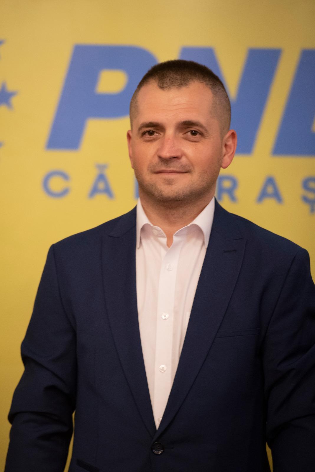 """Președintele PNL Călărași, sen. Ciprian Pandea: ,,Vă asigur de întregul meu sprijin și, împreună, mergem către victorie!"""""""